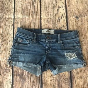HOLLISTER Denim Shorts Size 3 W26